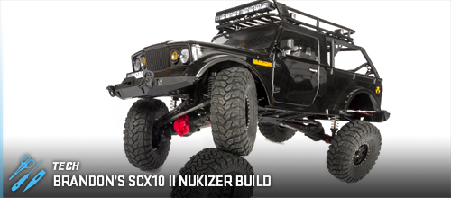 Axial Racing - Brandon's SCX10 II Nukizer Build