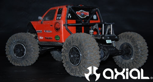 Project Wroncho – Wraith axles under an SCX10 chassis