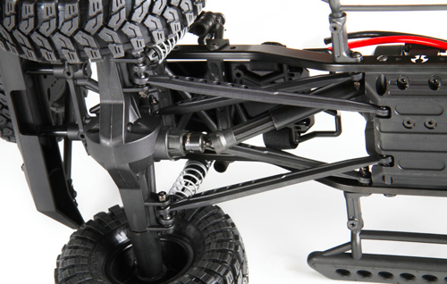 axial driveshaft