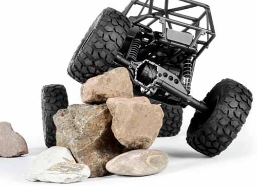solid axle articulation