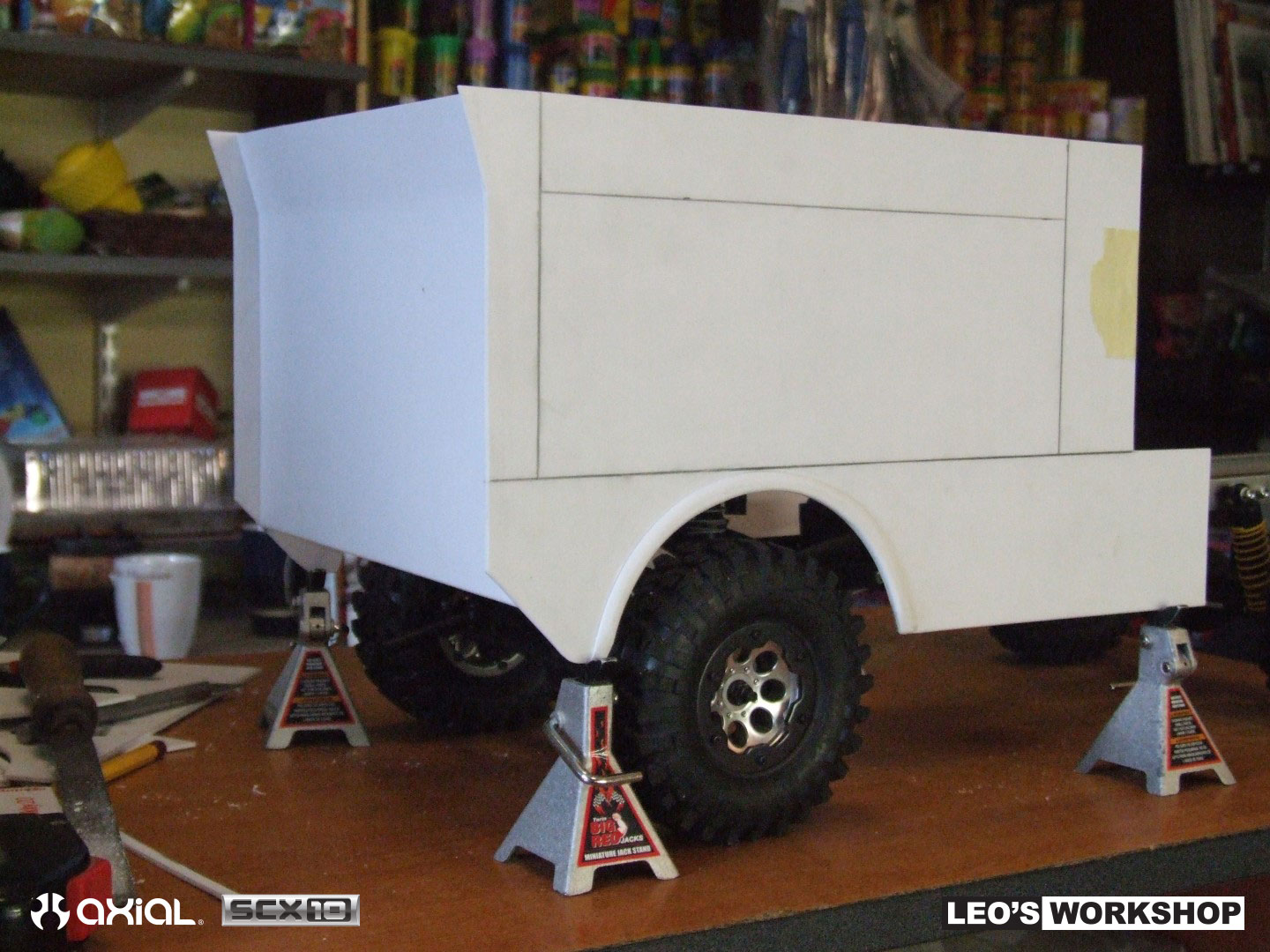 how to build a rally truck