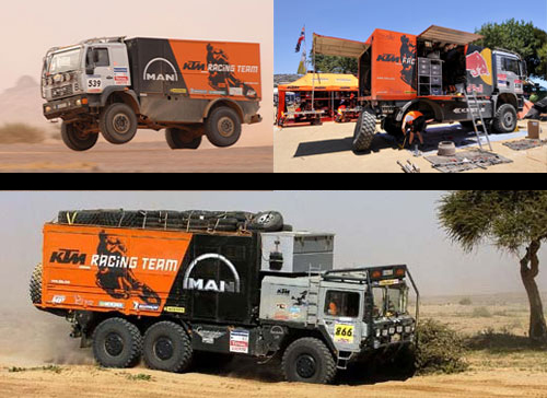 Ktm Support Truck Images Why Trucks In The Dakar Rally