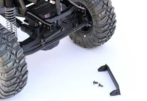 Installing a RC4WD Snow Plow on Your SCX10