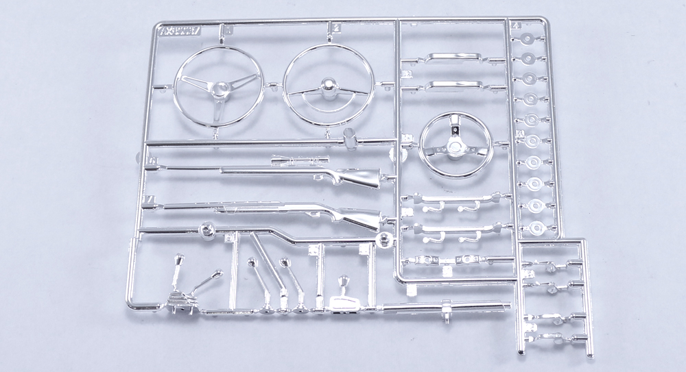 AX80047 Interior Detail Parts (Chrome)