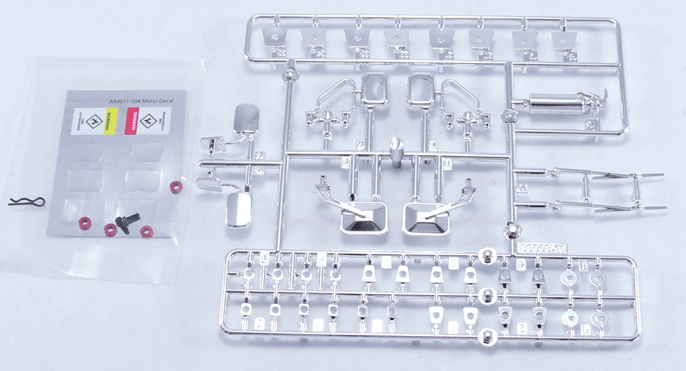 AX80048 Exterior Detail Parts (Chrome)