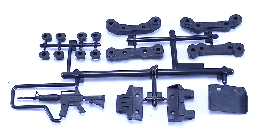 AX80100 EXO Chassis Guard and Toe Block Insert Set