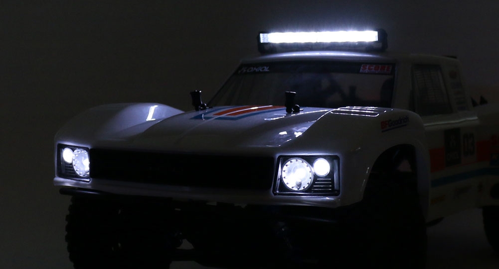 Adding Lights to the Axial Yeti SCORE Retro Trophy Truck