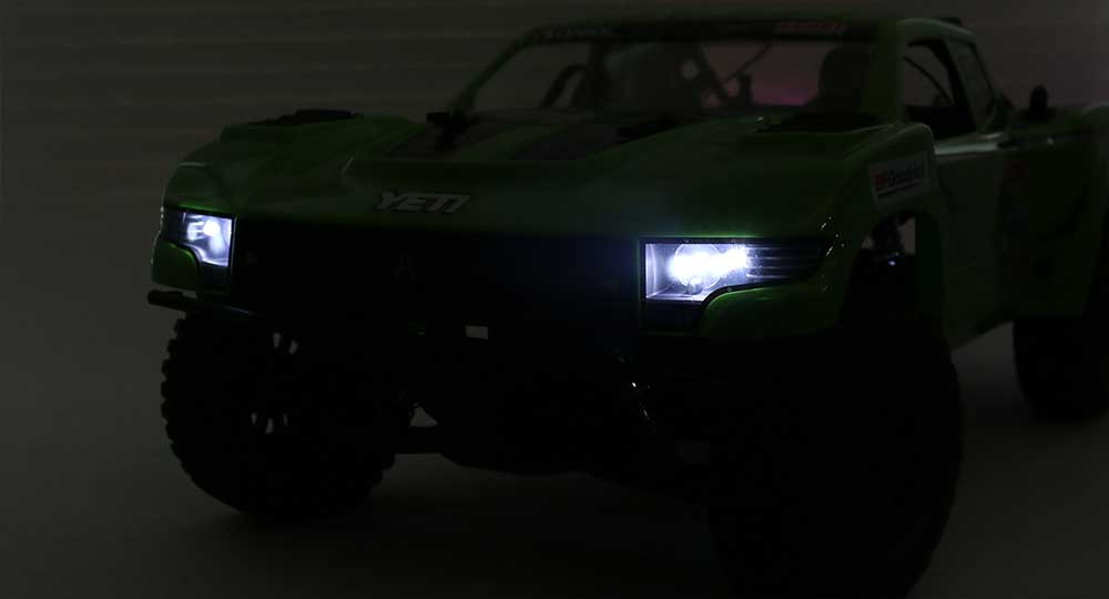 Adding Lights to the Axial Yeti SCORE Trophy Truck