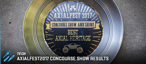 AXIALFEST2017 Concourse Results