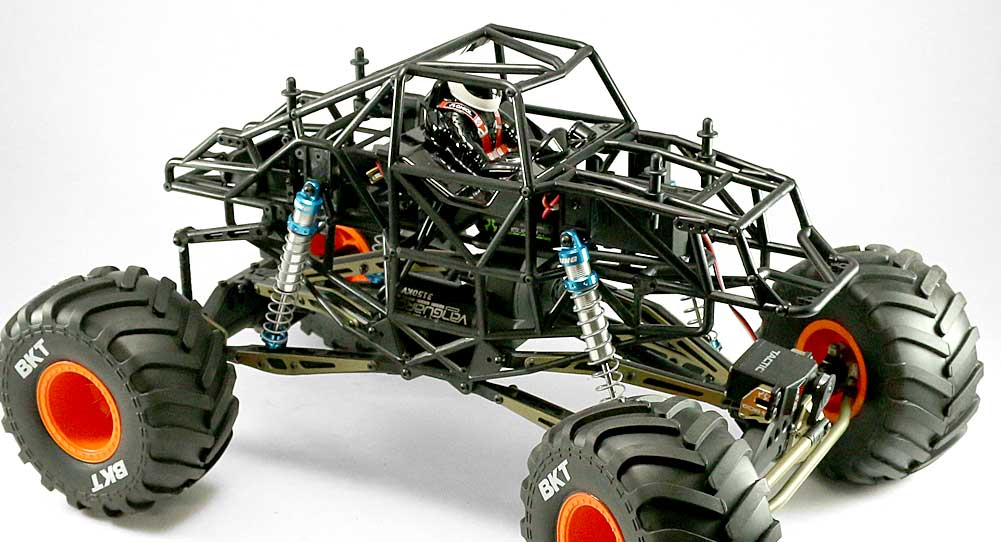 Axial MAX-D SMT10 Monster Truck Full Option Build