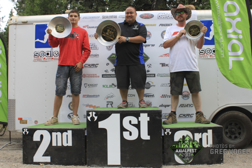 AXIALFEST2017 Rock Racing Winners