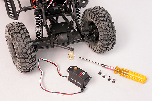 Axial Servo Swap How To 12