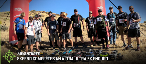 Skeeno Completes an Altra Ultra 5K