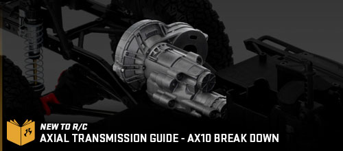 Axial AX10 Tranmission Break Down