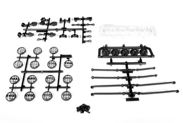 Universal 5 Bucket Light Bar Set