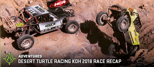 Desert Turtle Racing KOH 2018 Race Recap