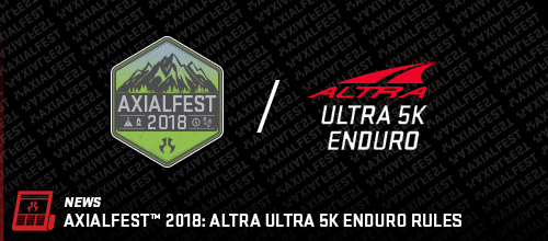 AXIALFEST2018: Altra Ultra 5K Enduro Rules