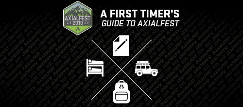 A First Timers Guide to AXIALFEST 2018