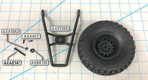 Axial Deadbolt AX90066 Simple Body and Bumper Mod
