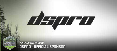 DSPRO – Official Sponsor of AXIALFEST 2018