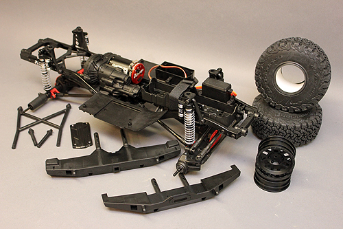 Axial SCX10 Chassis Build 1
