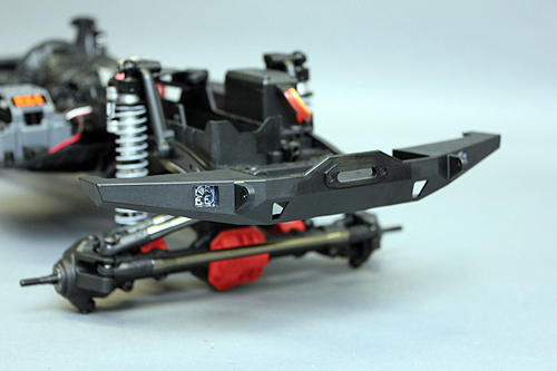 Axial SCX10 Chassis Build 7